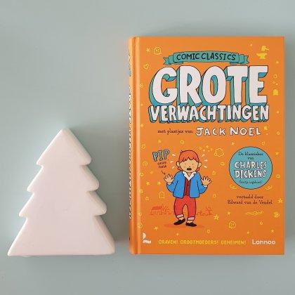 De leukste kinderboeken over kerst - Grote verwachtingen in comic book of stripboek