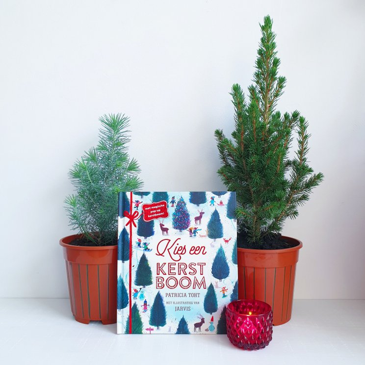 Kinderboek Kies een kerstboom