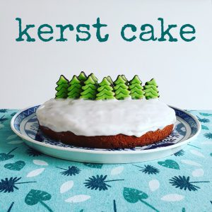 Kerst cake: een makkelijk recept als toetje of bij de koffie