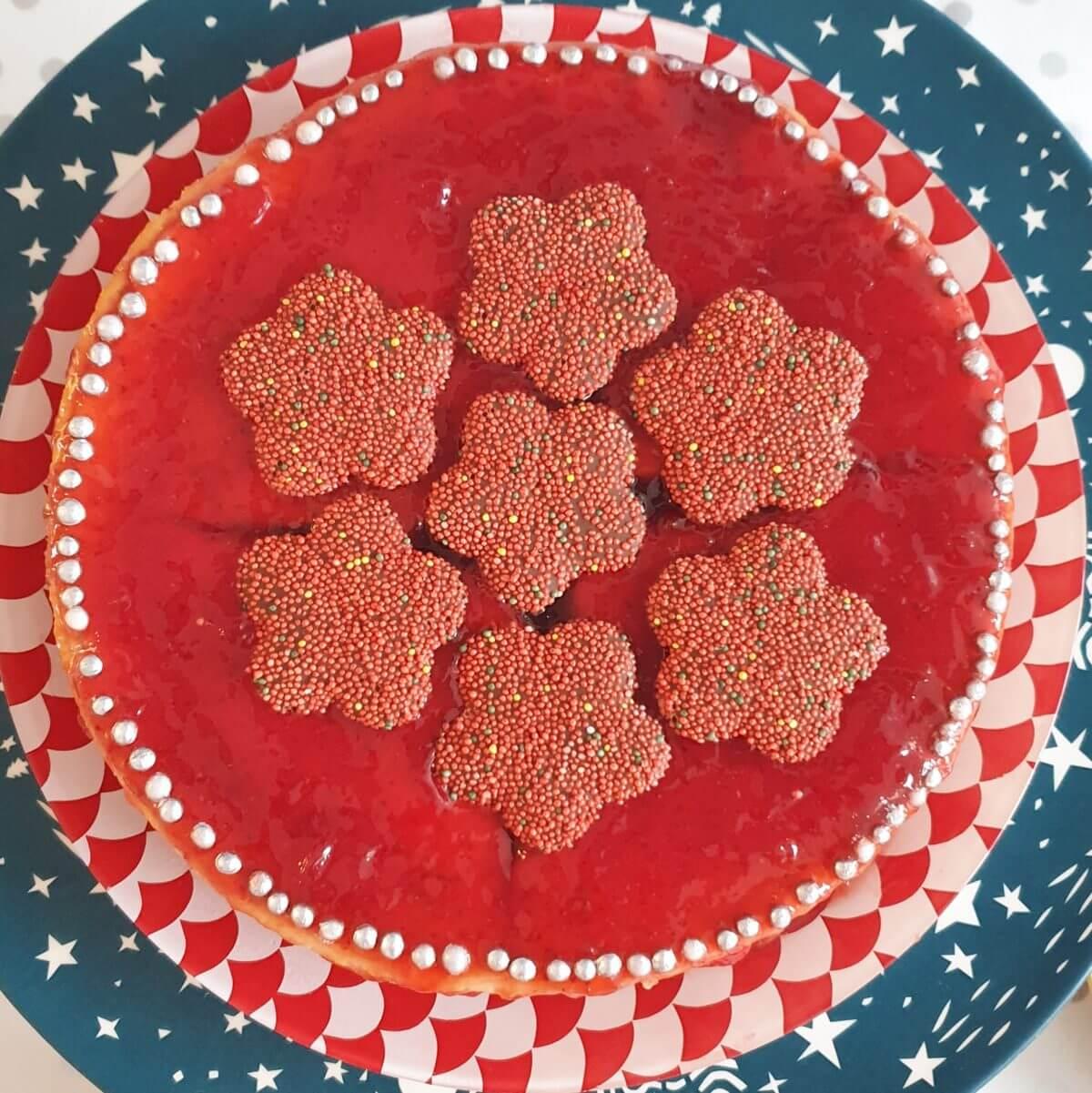 recept voor kerst cheesecake