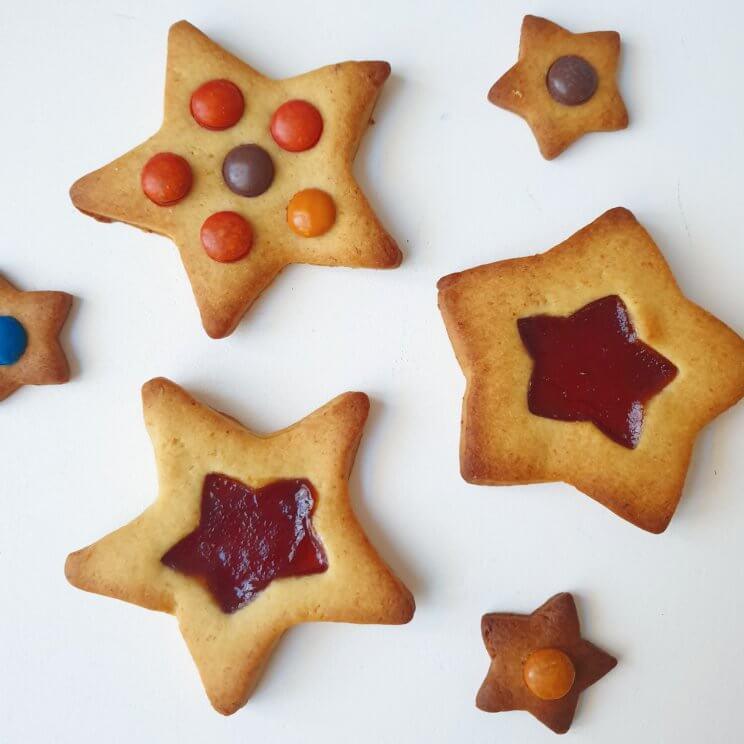 Bakken met kids: heel veel leuke recepten voor kinderen. Jamkoekjes zelf maken