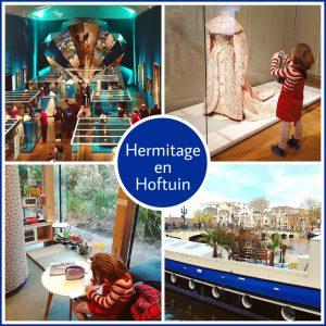 Amsterdam met kinderen: museum de Hermitage en lunchplek de Hoftuin