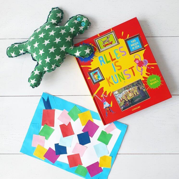 Boekentip - Alles is kunst, met dit boek maken kinderen zelf kunst