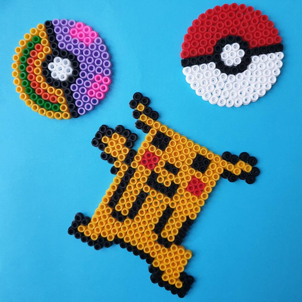 Pokémon Pikachu strijkkralen