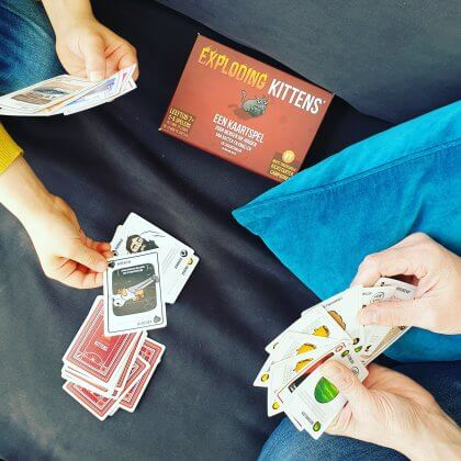 Exploding kittens - De leukste (bord)spelletjes voor peuters, kleuters, kinderen en tieners
