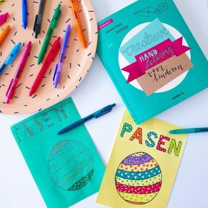 101 ideeën om te knutselen met kinderen - creatieve handlettering voor kinderen