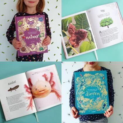 Boekentips: het dikke boek van alle bijzondere dieren + het dikke boek van onze bijzondere natuur