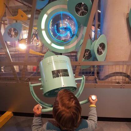 101 leuke uitjes met kinderen in Nederland en België – binnen en buiten. Wetenschapsmuseum NEMO Science Museum