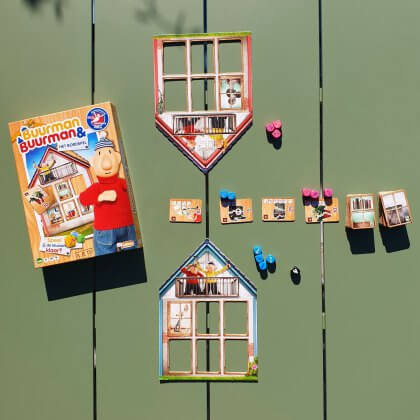 bordspel Buurman en Buurman - De leukste (bord)spelletjes voor peuters, kleuters, kinderen en tieners