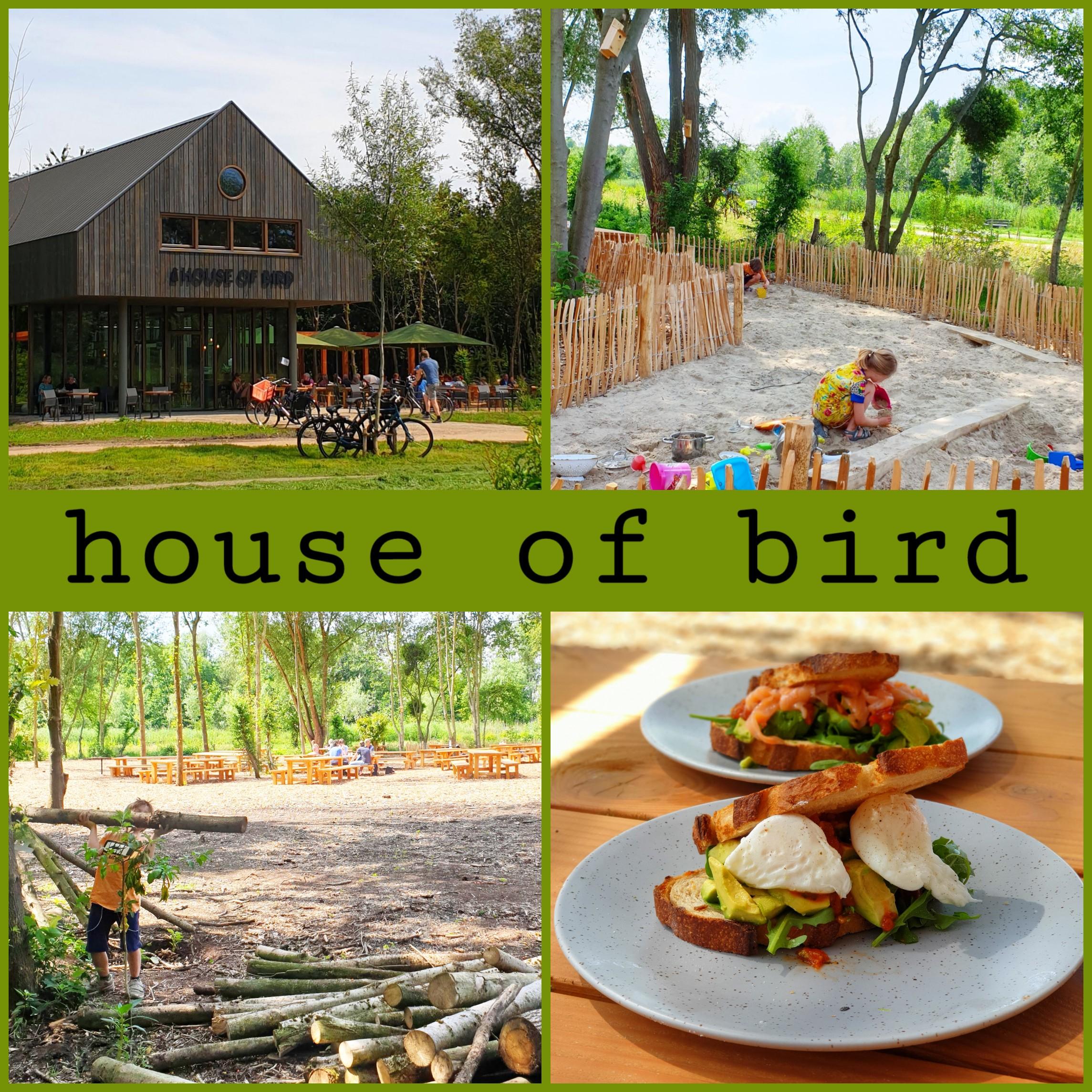 House of Bird: kindvriendelijk restaurant in het Diemerbos bij Amsterdam