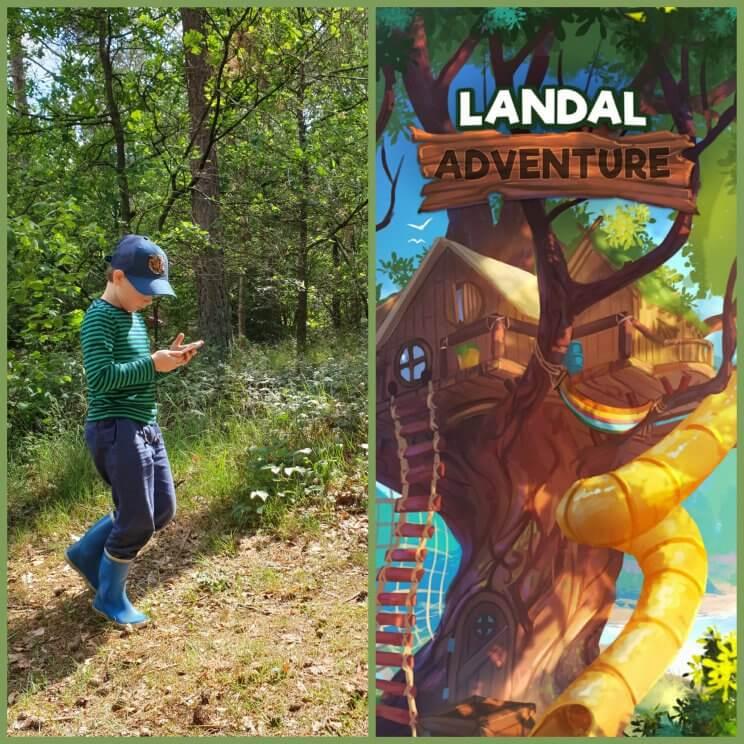 Landal Adventure game app: kruising tussen Minecraft en Pokemon Go in de natuur