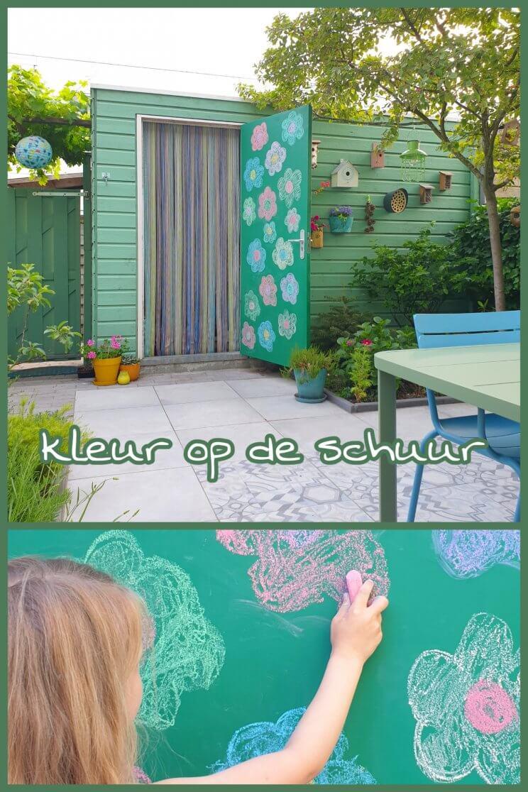 Schuur verven en opknappen: zo heb je altijd groen en kleur in de tuin