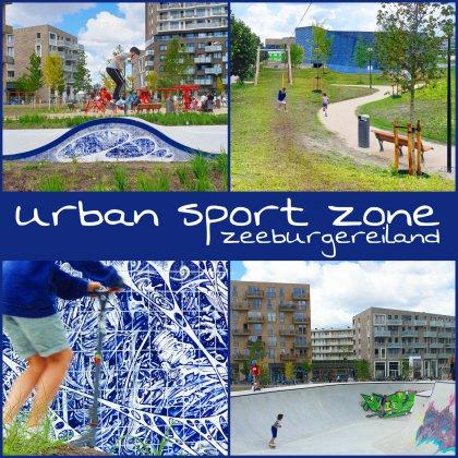 Urban Sport Zone Amsterdam: skatebaan en speeltuin Zeeburgereiland