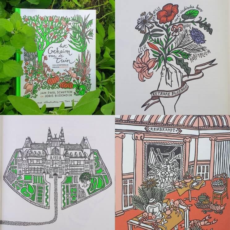 Het geheim van de tuin - een avontuurlijk kinderkookboek, verhaal en boek om kinderen te leren over de moestuin