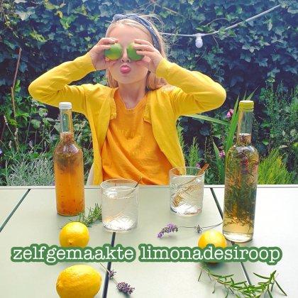 Recept voor zelfgemaakte limonadesiroop met kruiden