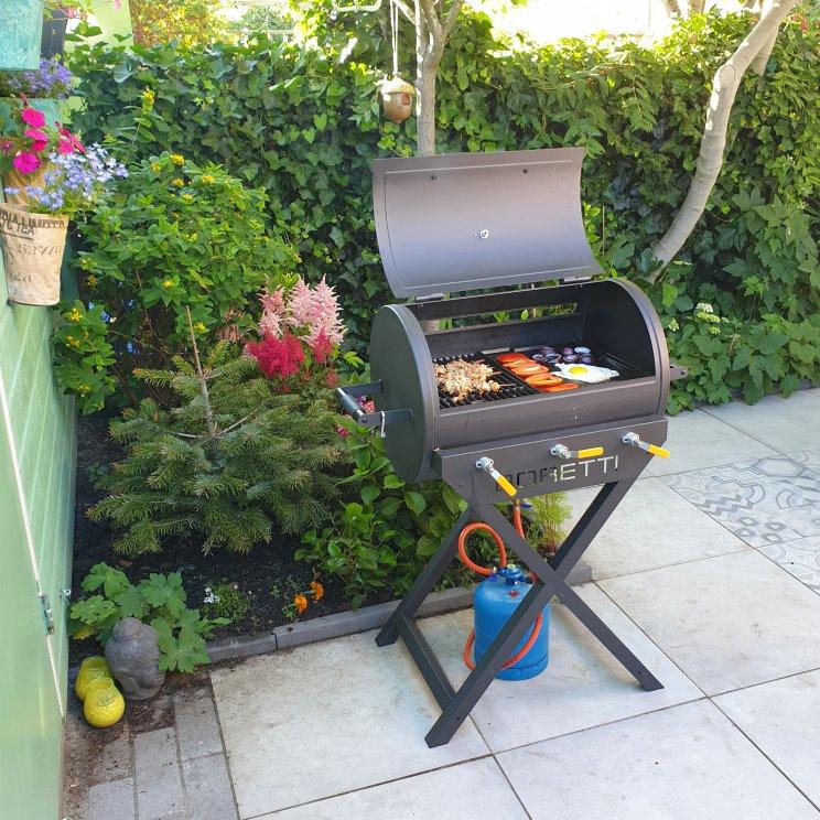 Boretti Addizio stijlvolle Gasbarbecue