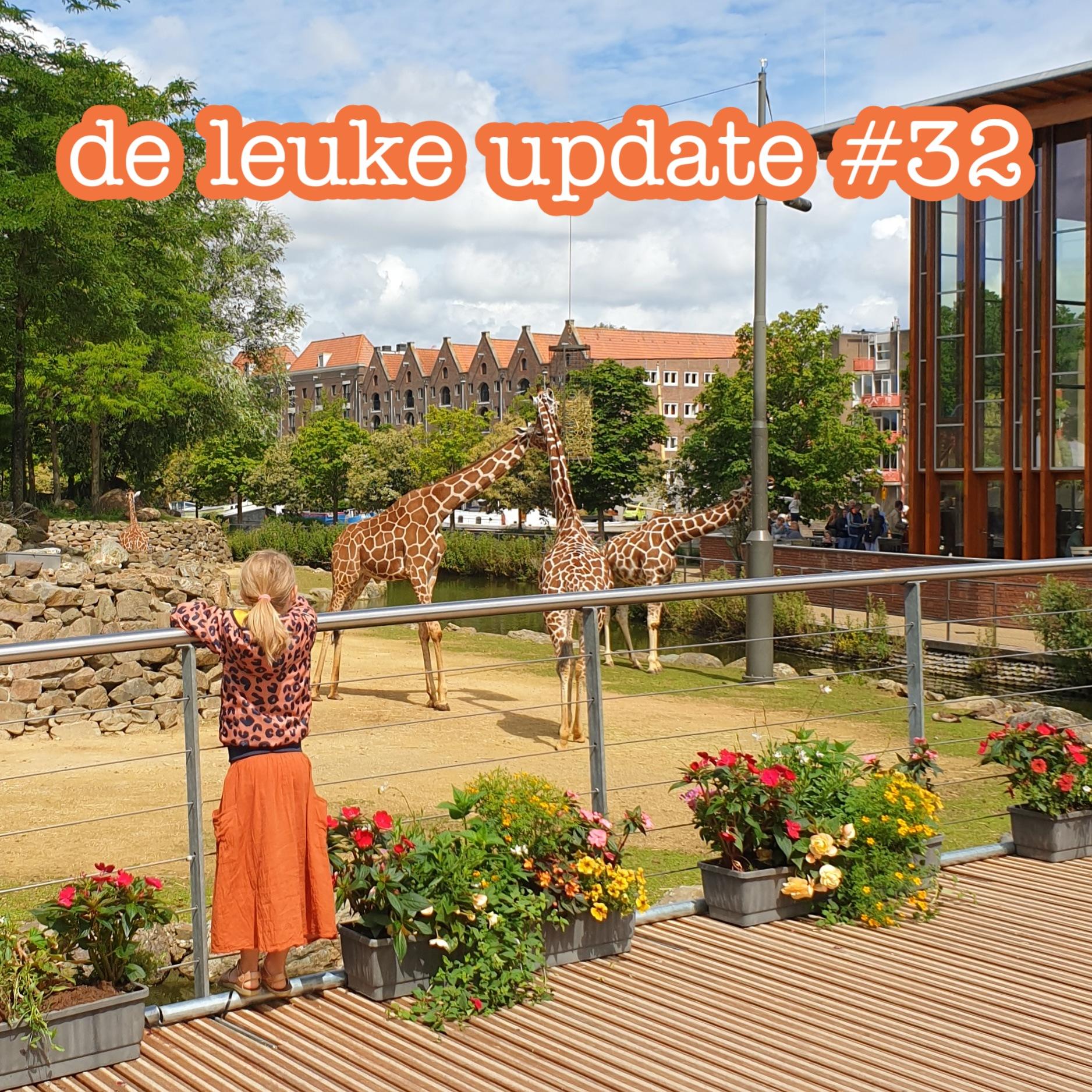 De Leuke Update #32 | nieuwtjes, ideeën, musthaves en uitjes voor kids