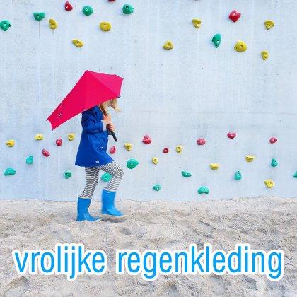 Hippe regenjassen, regenbroeken en regenlaarzen voor kinderen