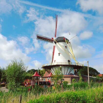 Kindvriendelijk restaurant Schouwen-Duiveland: De Pannekoekenmolen in Burgh-Haamstede, Zeeland