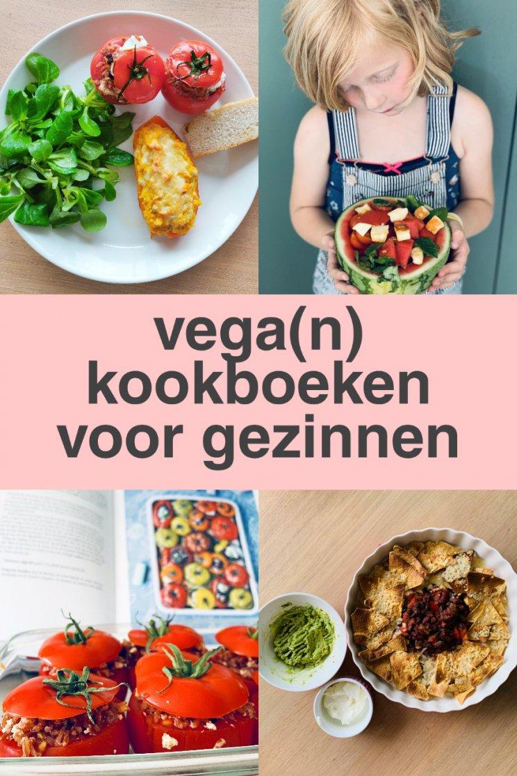 Vegetarische en vegan kookboeken voor gezinnen