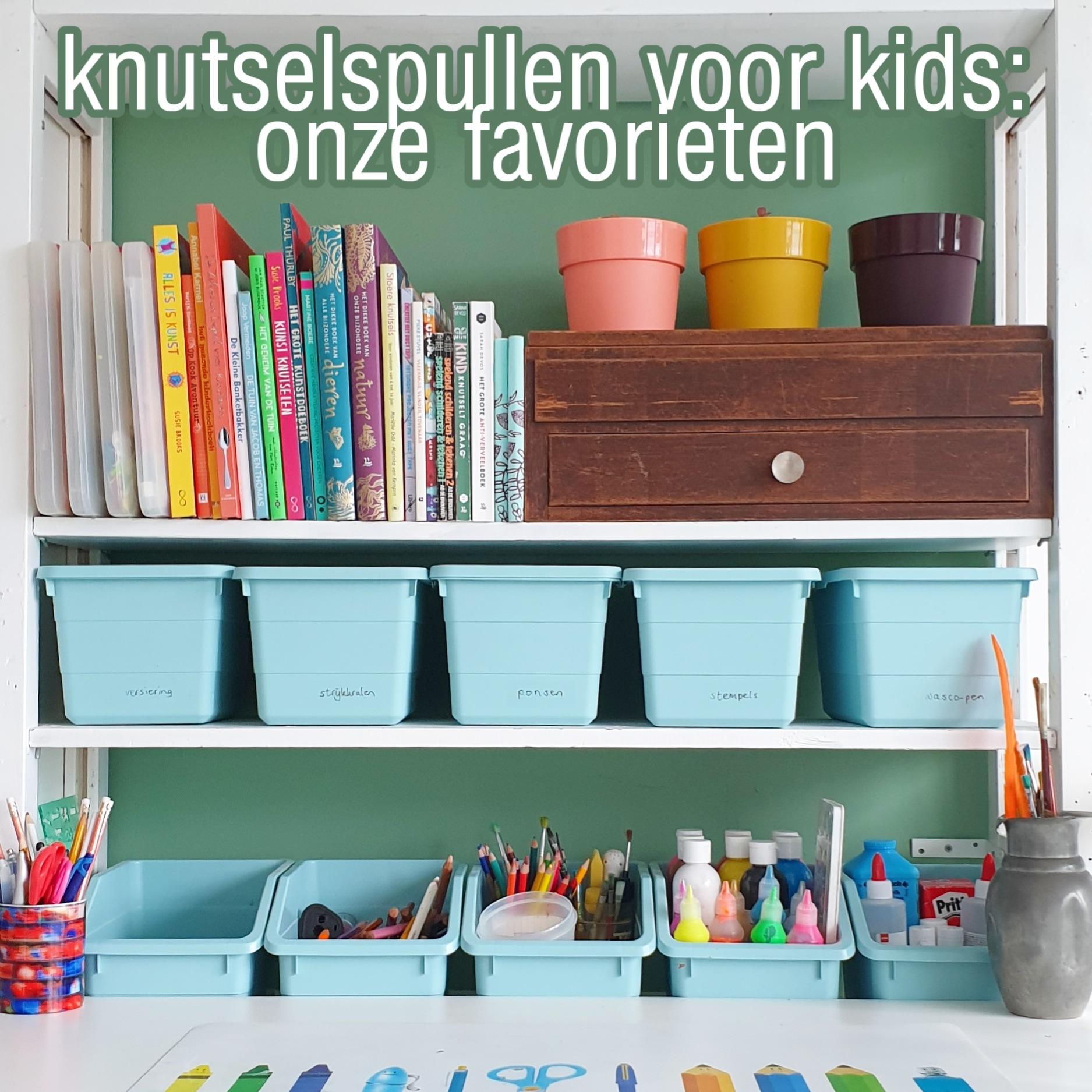 Welke knutselspullen zijn leuk voor kinderen? Dit zijn onze favorieten