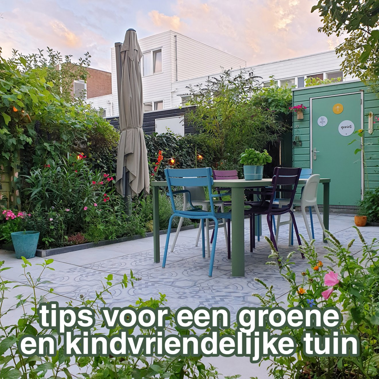 Tips voor een kindvriendelijke, kleurrijke en groenblijvende tuin