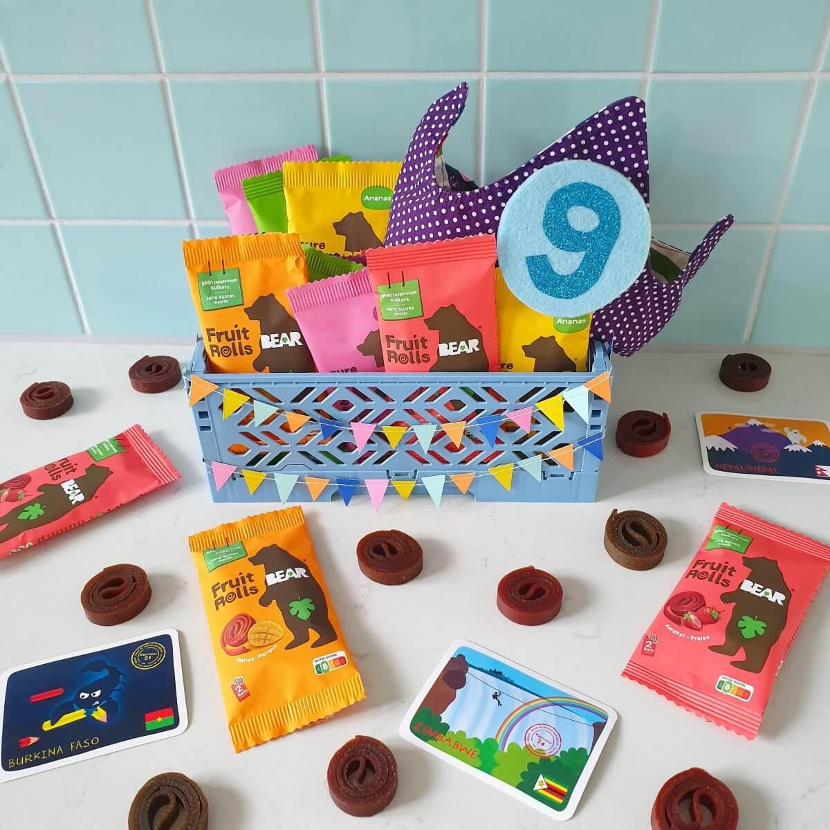 Bear fruit snacks - corona proof en gezonde traktatie op school of crèche