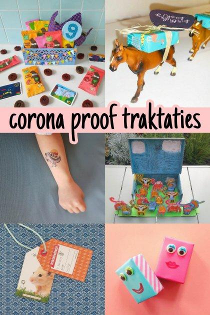 Corona proof voorverpakte traktatie ideeën: verjaardag op school of crèche