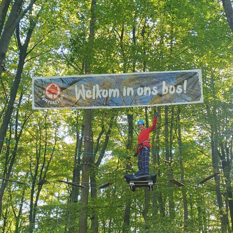 Klimbos Fun Forest: sportief buiten uitje met kinderen in de natuur