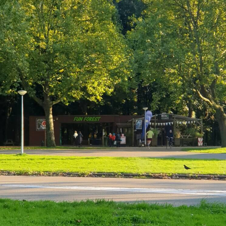 Klimbos Fun Forest startpunt