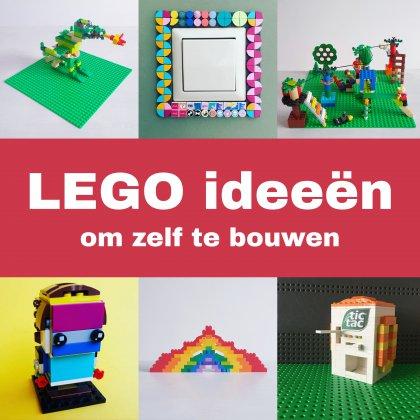 LEGO ideeën om te bouwen: heel veel voorbeelden