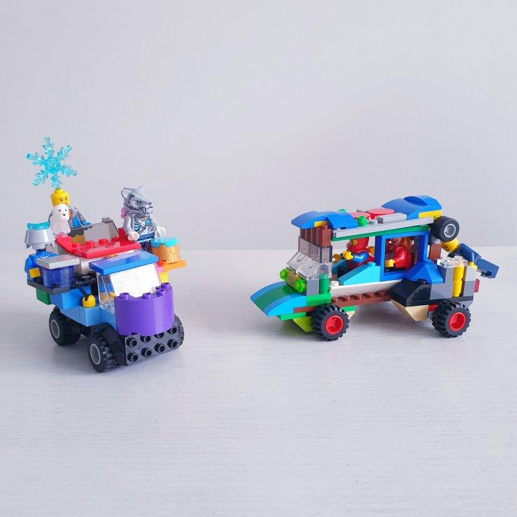 LEGO ideeën om te bouwen: heel veel voorbeelden - race auto's