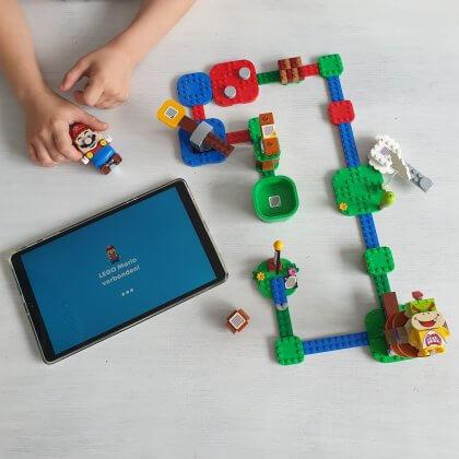 LEGO Super Mario, LEGO spel met app
