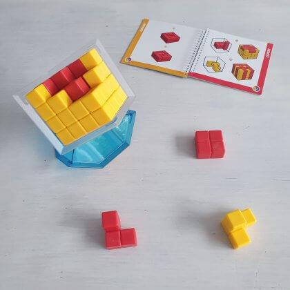SmartGames Cube Duel, strategisch spel dat je in je eentje of samen kunt spelen