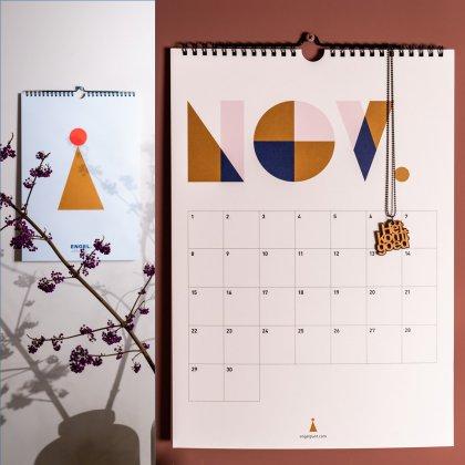 Engelpunt verjaardagskalender en jaarkalender