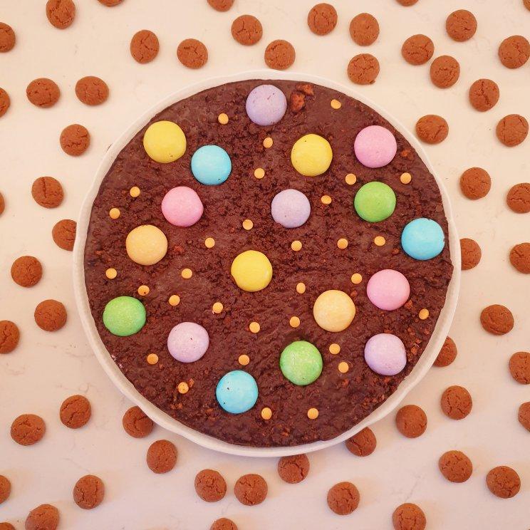 Sinterklaas recepten leuke ideeën om te knutselen met eten- pepernoten chocolade koek