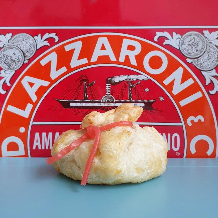 Sinterklaas hapjes recept: appelflap zak van Sinterklaas