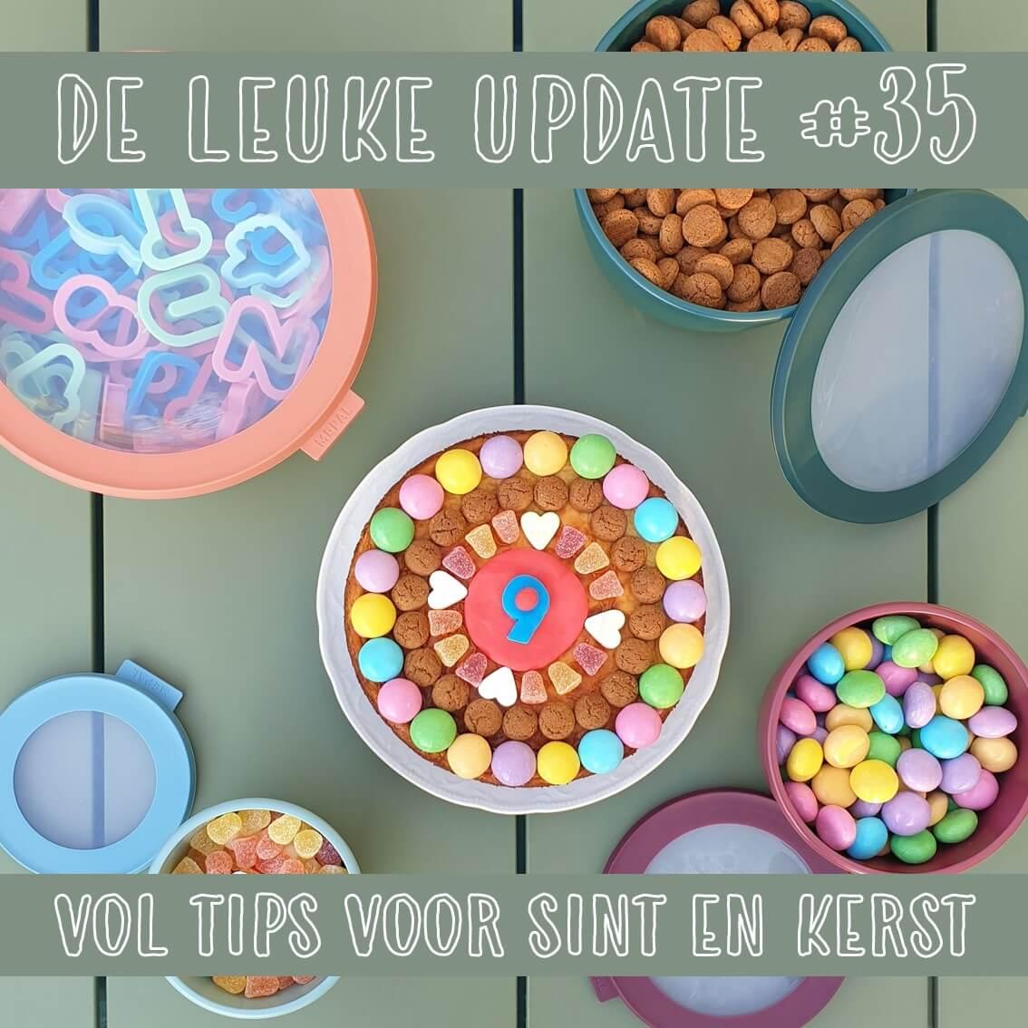 De Leuke Update #35 | nieuwtjes, ideeën, musthaves en uitjes voor kids, vol tips voor Sinterklaas en kerst