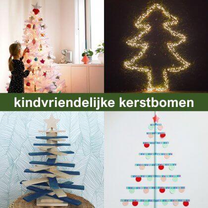 Ideeën voor een kindvriendelijke kerstboom, ook duurzame keuzes