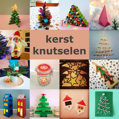 Kerst knutselen: heel veel leuke ideeën