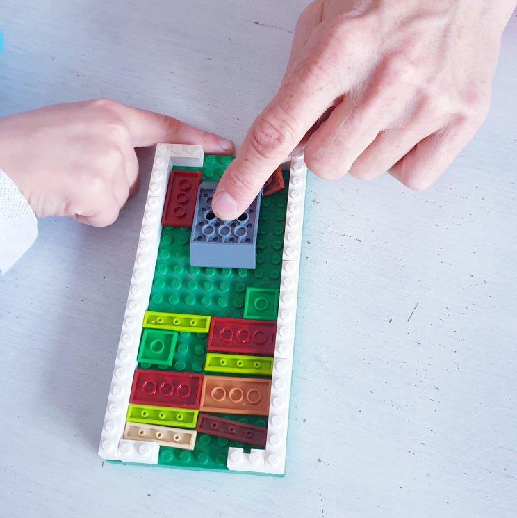 LEGO ideeën om te bouwen: heel veel voorbeelden, dit is een LEGO breinbreker