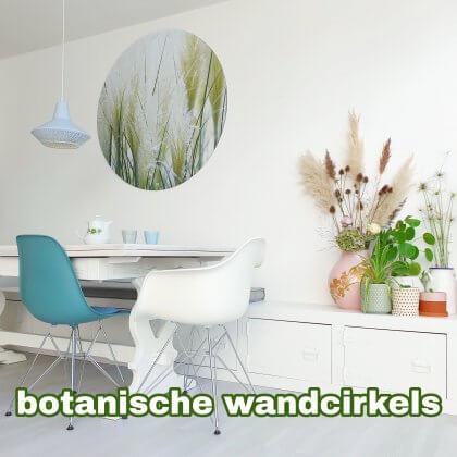 Zo haal je de tuin de woonkamer in met botanische muurdecoratie