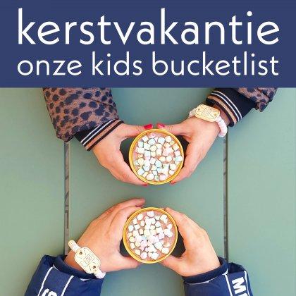 Onze bucketlist voor kerst: kerstvakantie activiteiten voor kinderen