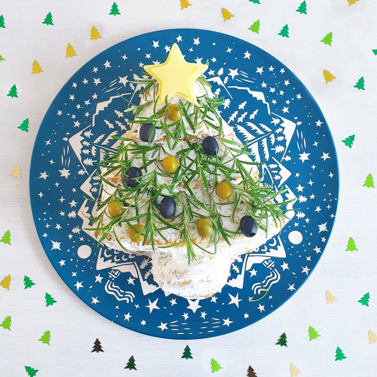Recept voor hartig gezond kerstbrood