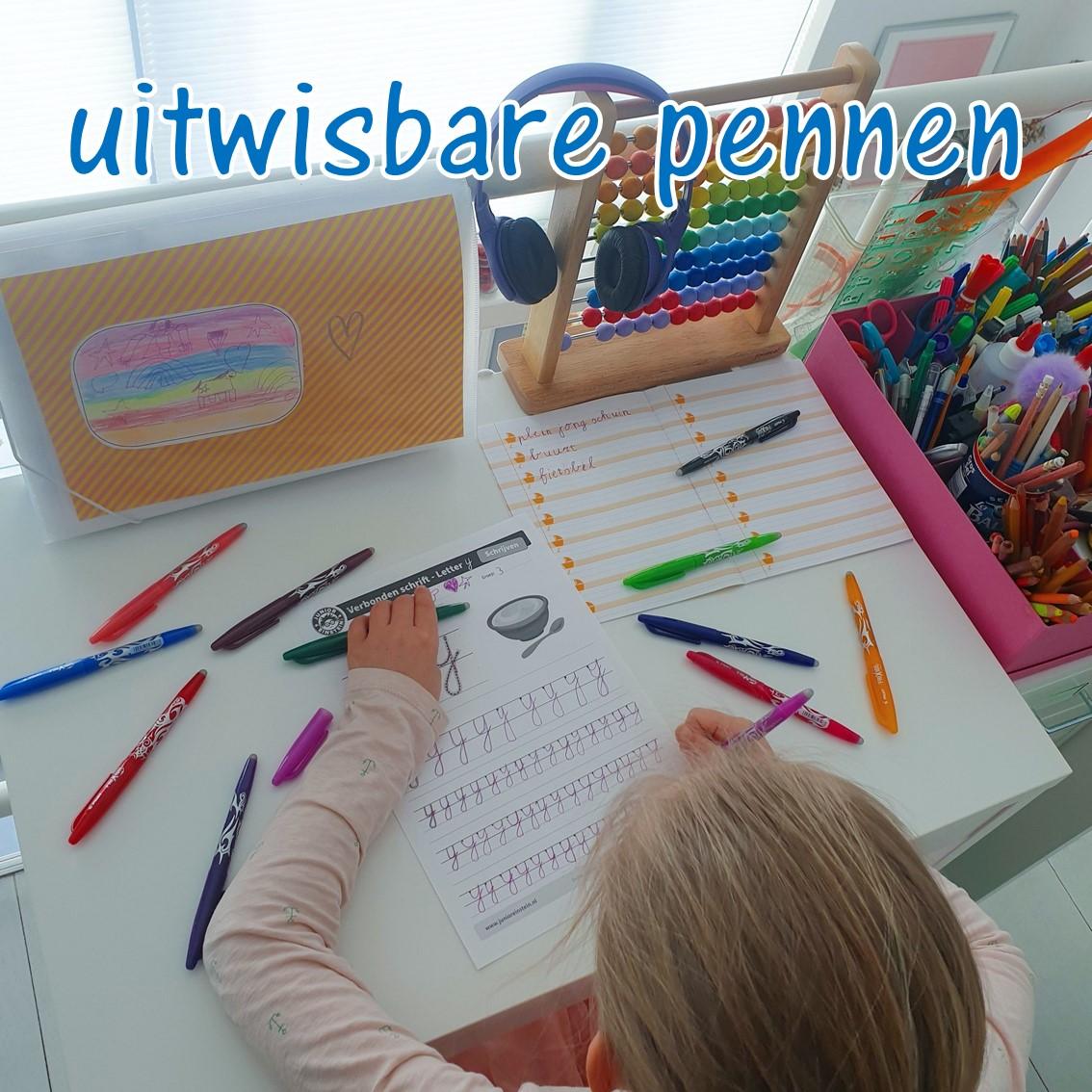 Frixion schrijven en pennen 3