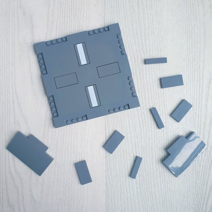 Nieuwe LEGO City flexibele bouwplaten