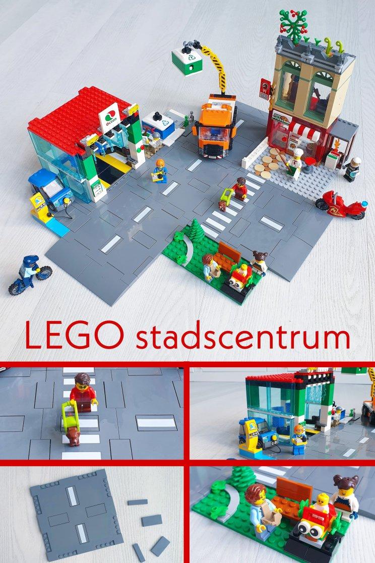 LEGO City stadscentrum 60292: veel speelmogelijkheden & nieuwe dingen