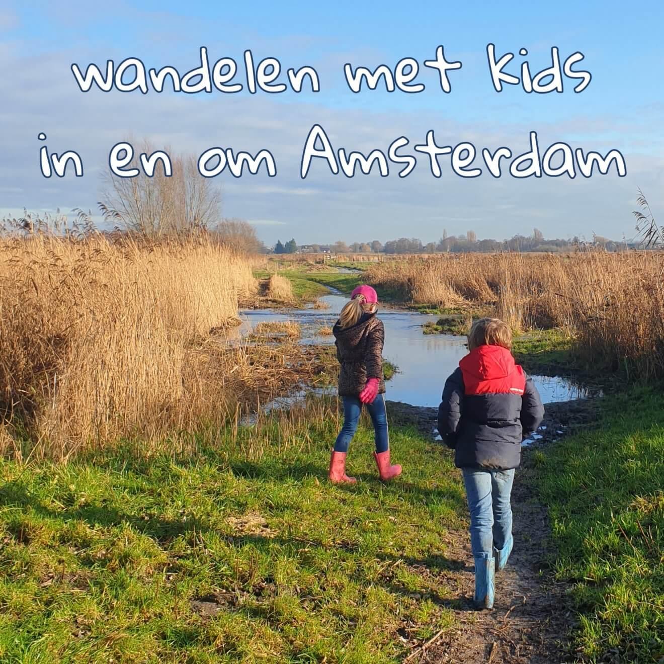 Wandelen met kinderen in de buurt van Amsterdam plekken met speeltuin