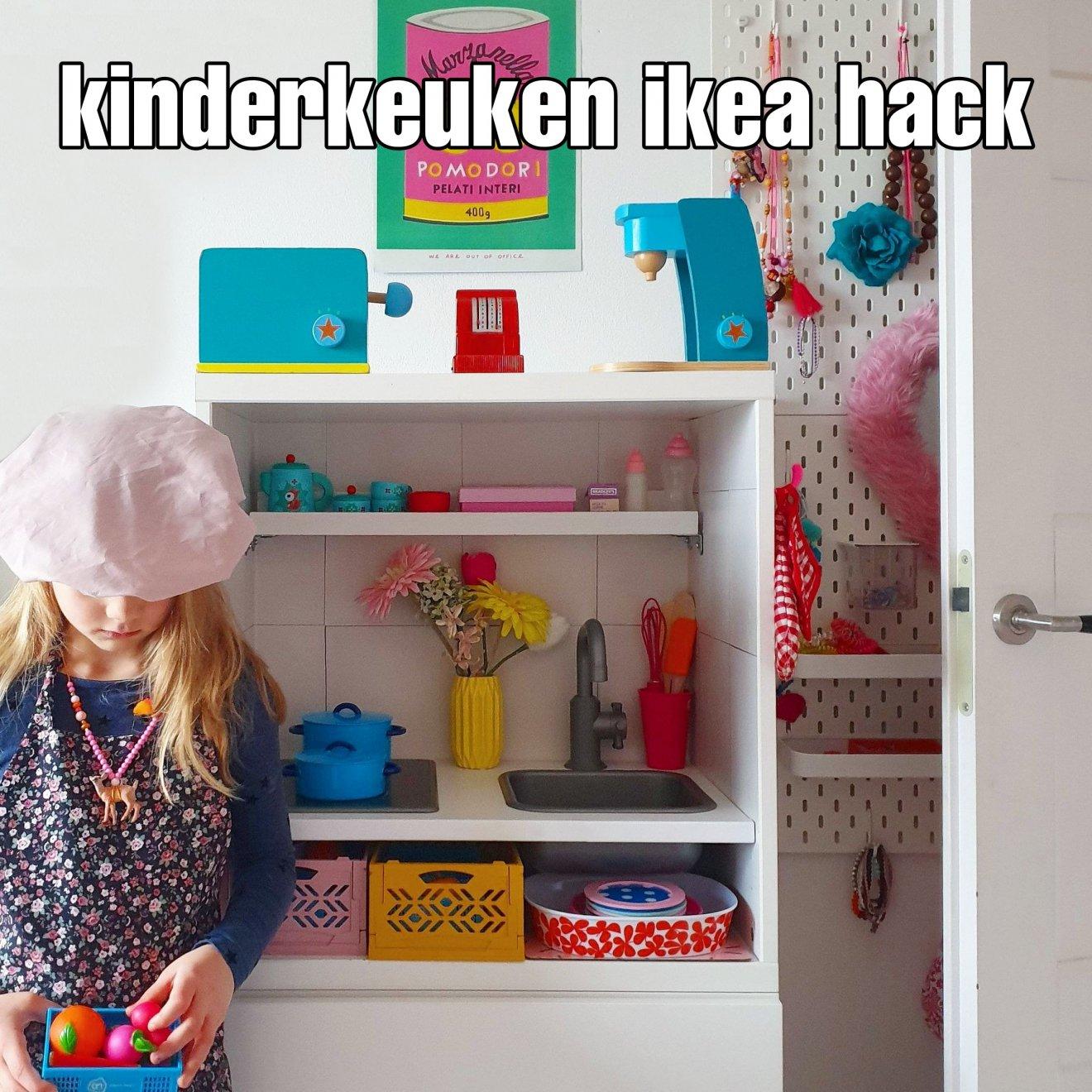 Ikea speelkeuken hack: een kinderkeuken maken van Duktig en Besta