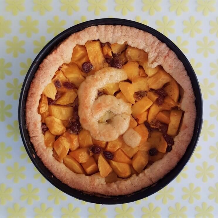 Bakken met kids: heel veel leuke recepten voor kinderen - mango-appeltaart